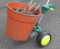 Pot mover trolley
