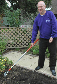 Weeding for disabled people weeding for disabled gardeners for Gardening tools for disabled