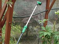 Extendable watering lance