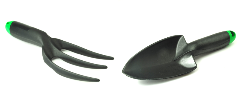 Linic lightweight trowel and fork
